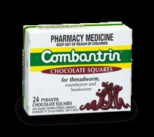 COMBANTRIN® Chocolate Squares